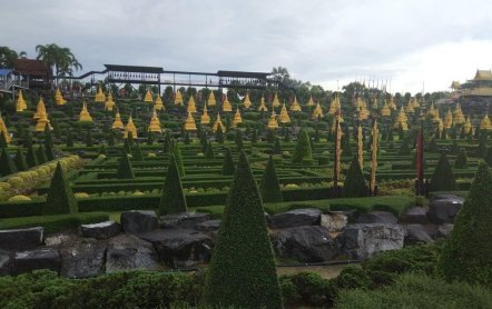Тропический парк Нонг Нуч – Азиатский Версаль в сердце Таиланда