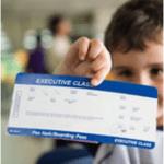 Билет в руках ребенка