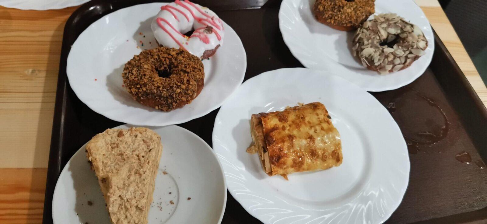 десерты столовой