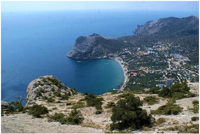 Крым сверху