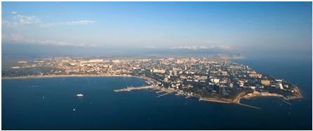 Вид с черного моря