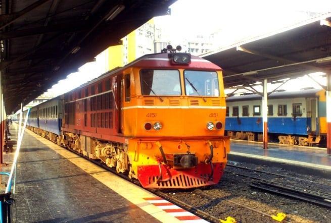 Поезд в Паттайе