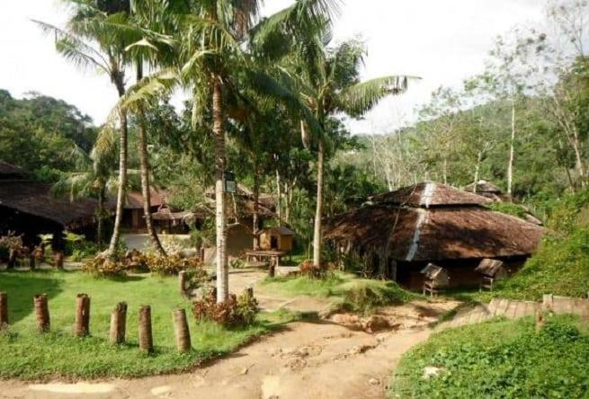 Деревня в джунглях