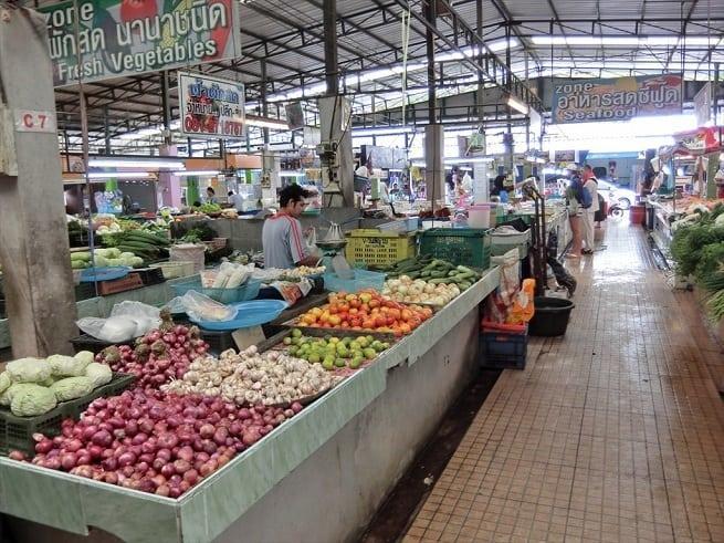 Внутри рынка