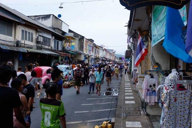 На улице Таланг