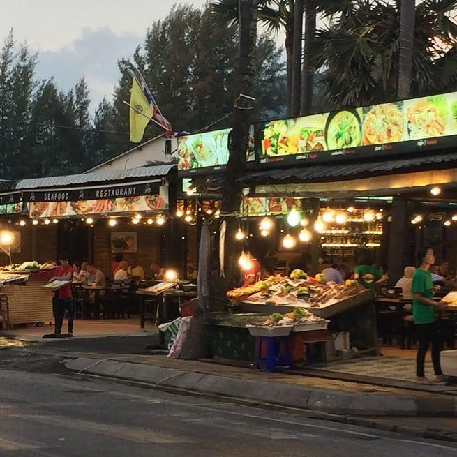 Ночной рыночек