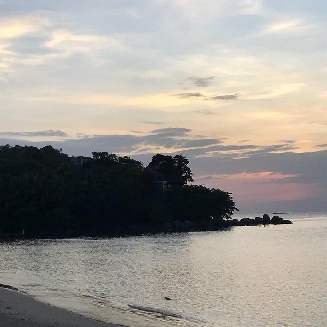 На юге пляжа