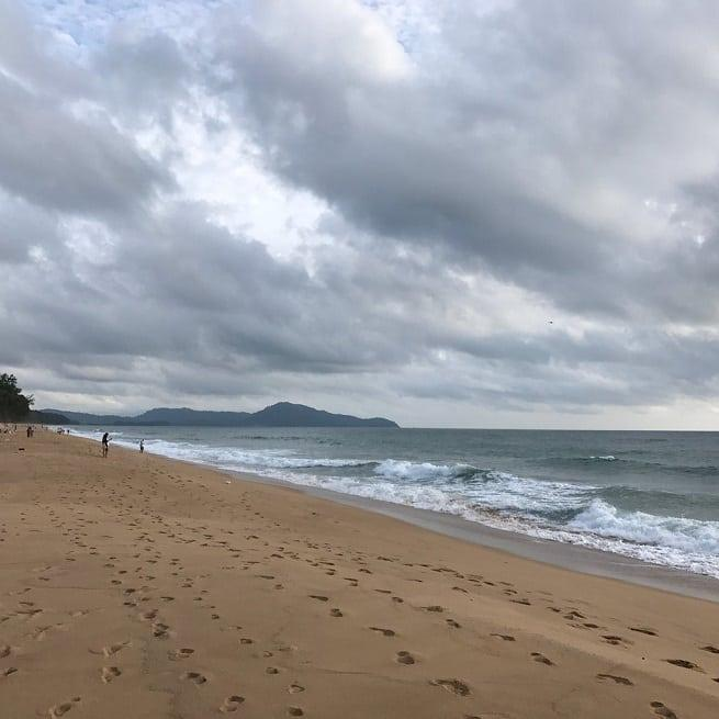 Фото пляжа вблизи