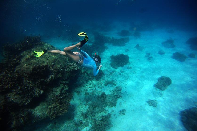 ныряние в глубину