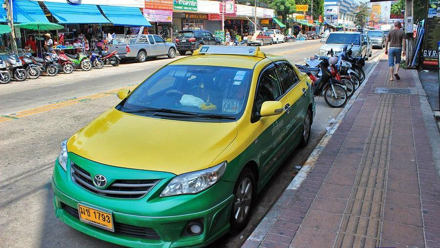 Такси в Паттайе