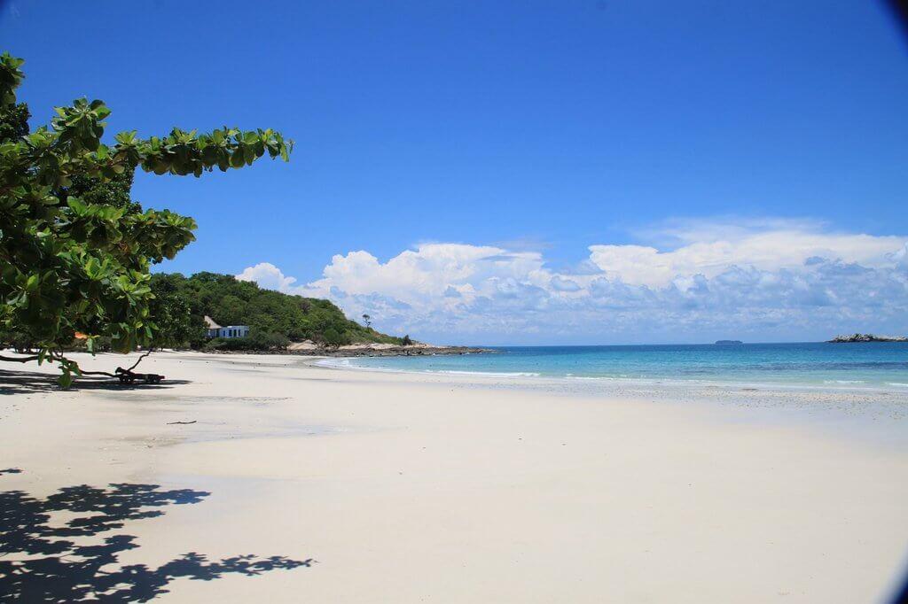 Пляж на Самете