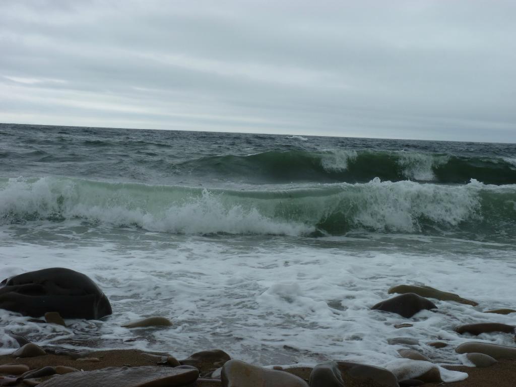 Море не всегда ласковое
