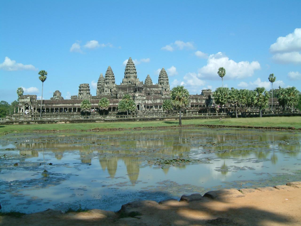 Храм в Камбодже