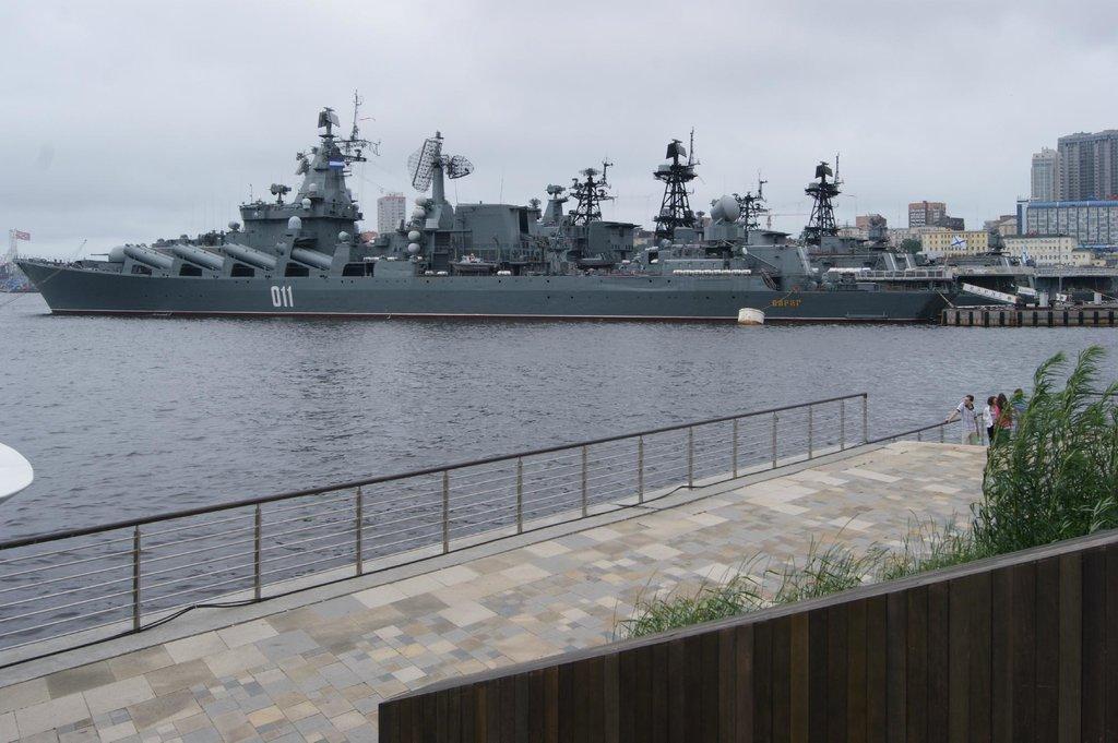 Часть кораблей