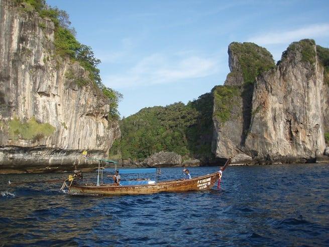 Вокруг островов на лодке