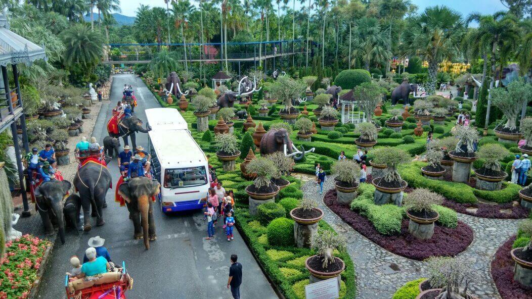 Пролгулка на слонах