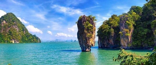 На острове Бонда