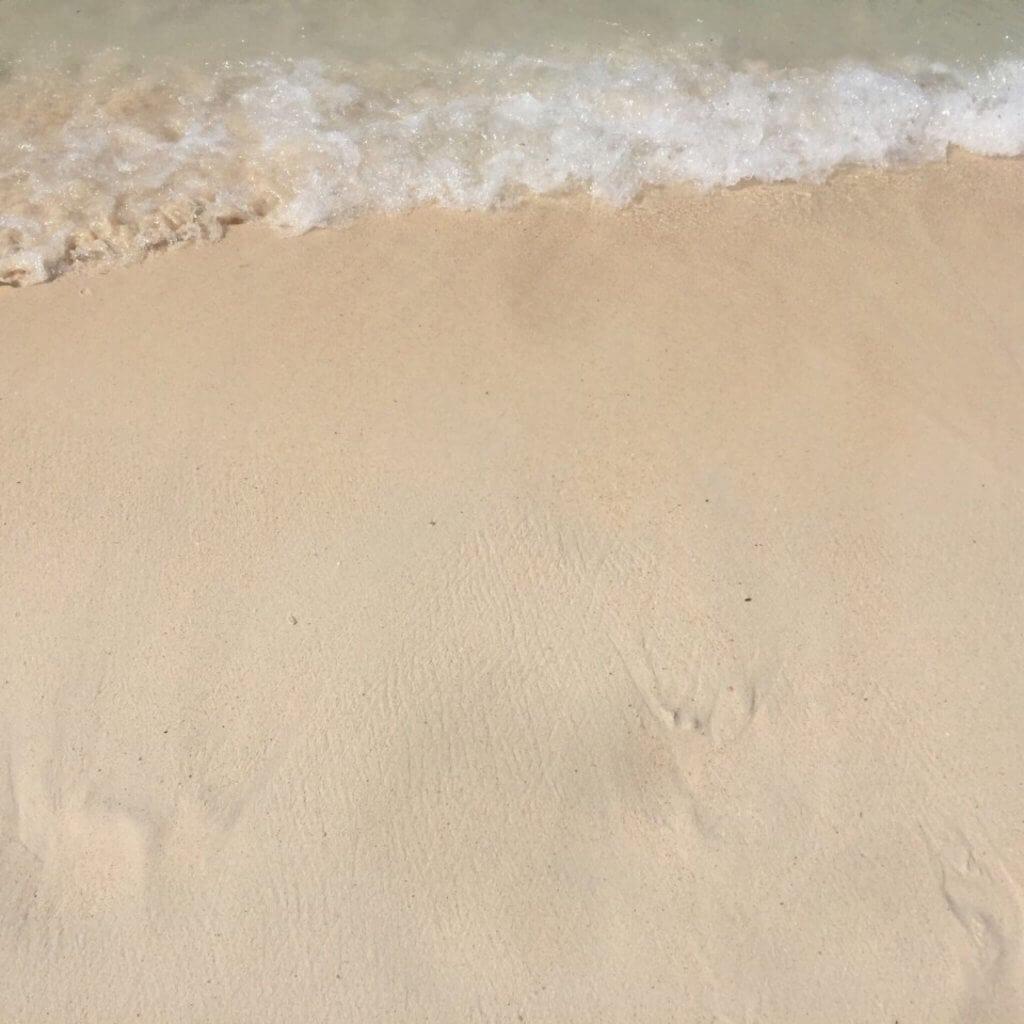 Ласковое море и песок