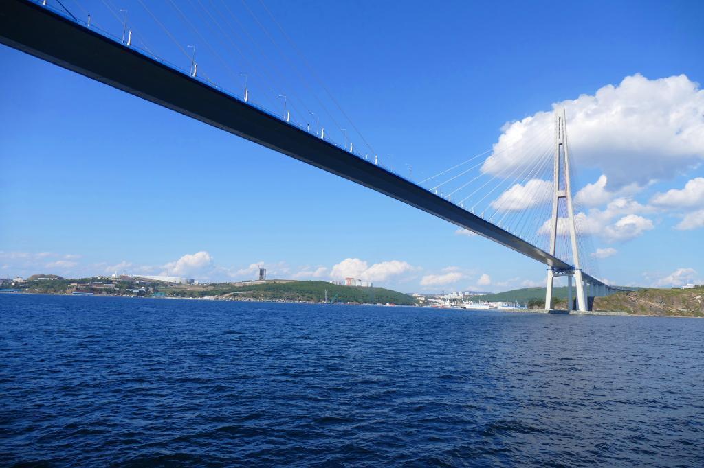 Мост снизу