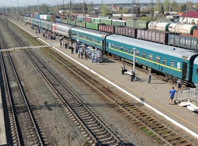 вокзал, главное место для железнодорожных путешественников