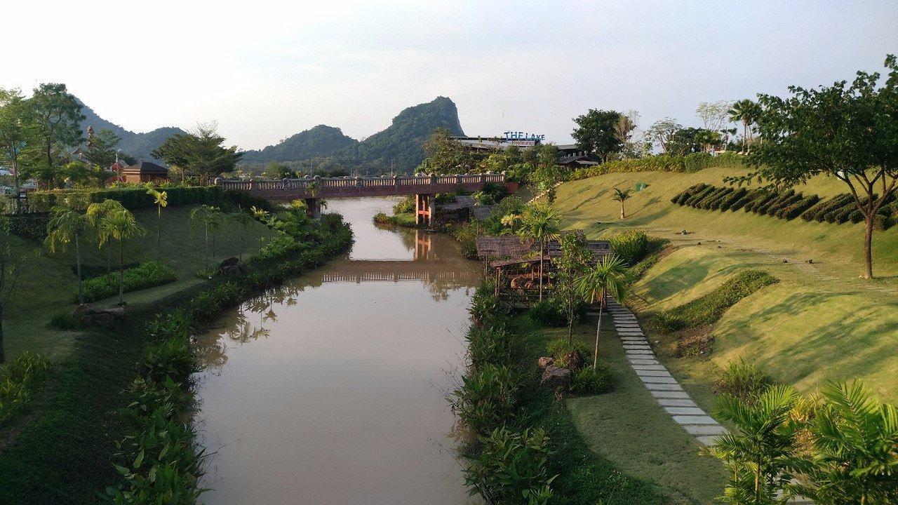 Территория водного парка