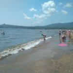 Пляж общий вид