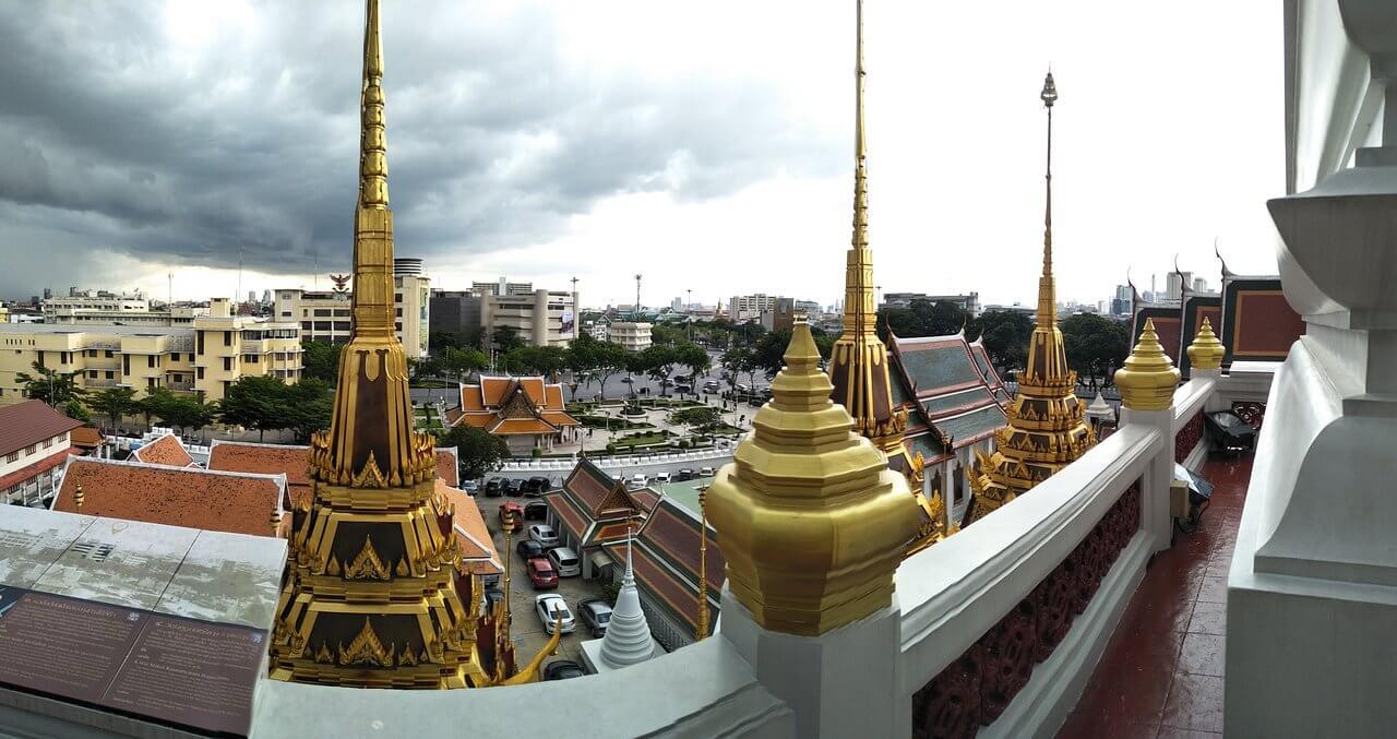Вид из храма