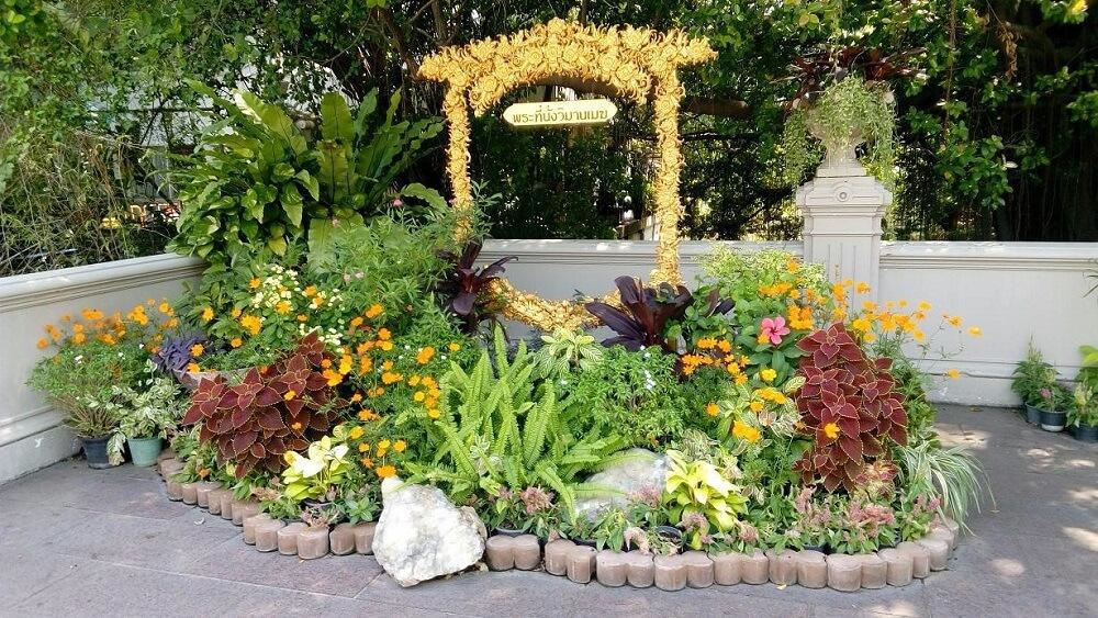парк во дворце