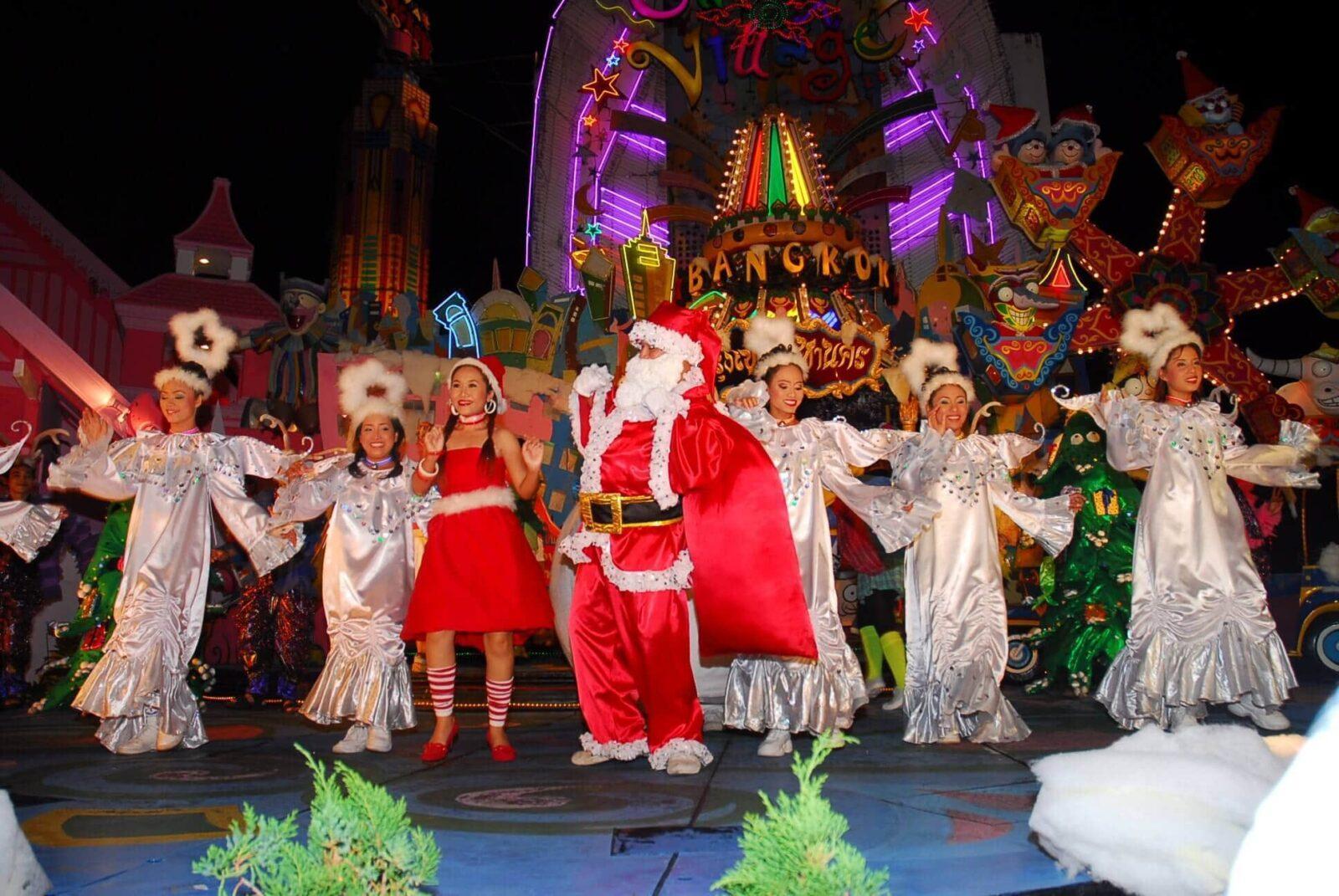 Санта Клаус в Таиланде