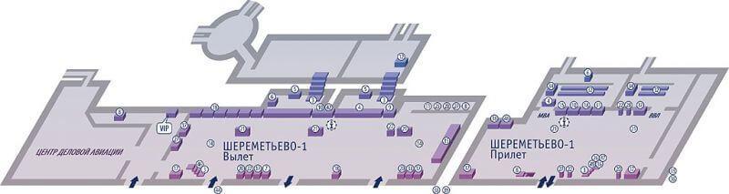Схема терминала
