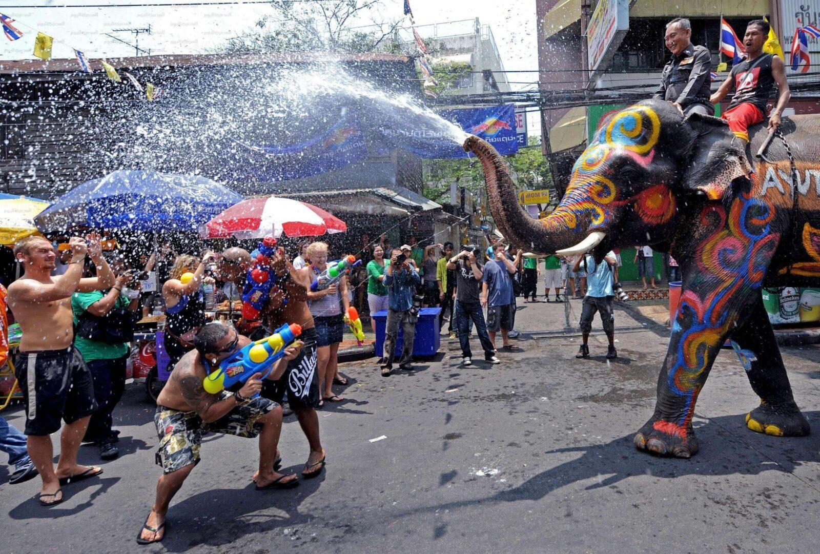 Тайская забава