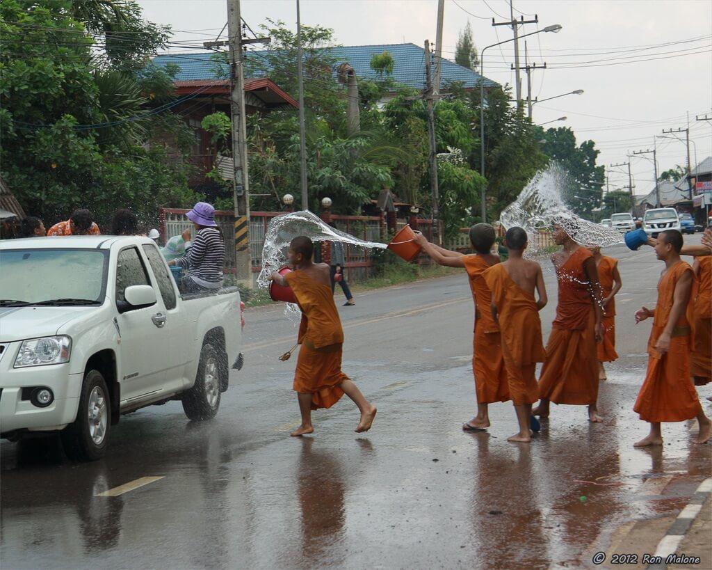 Тайское обливание