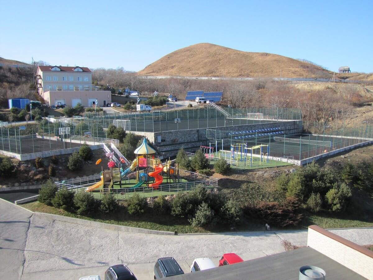 Вид на площадку