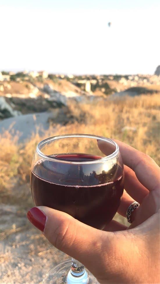 Вино на прощание