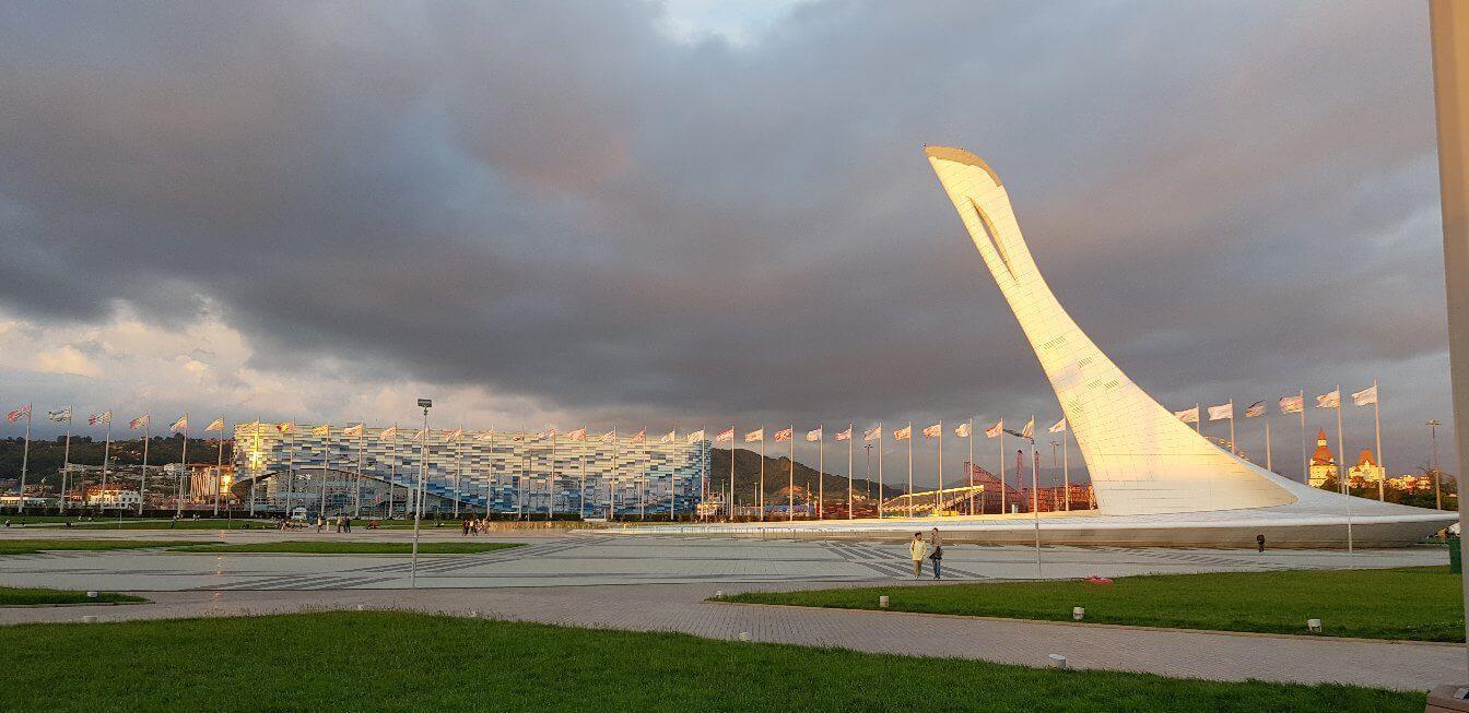 В олимпийском парке