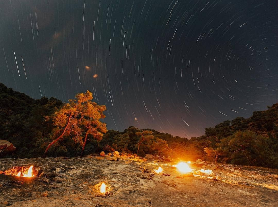 ночной огонь