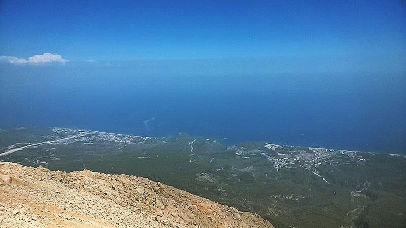 Море с горы