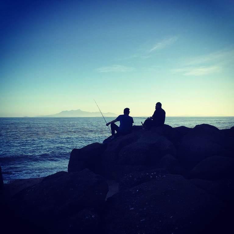 С берега