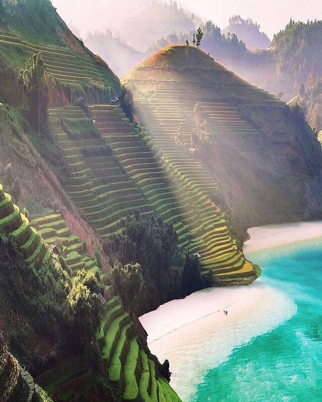 живописный вид вьетнама