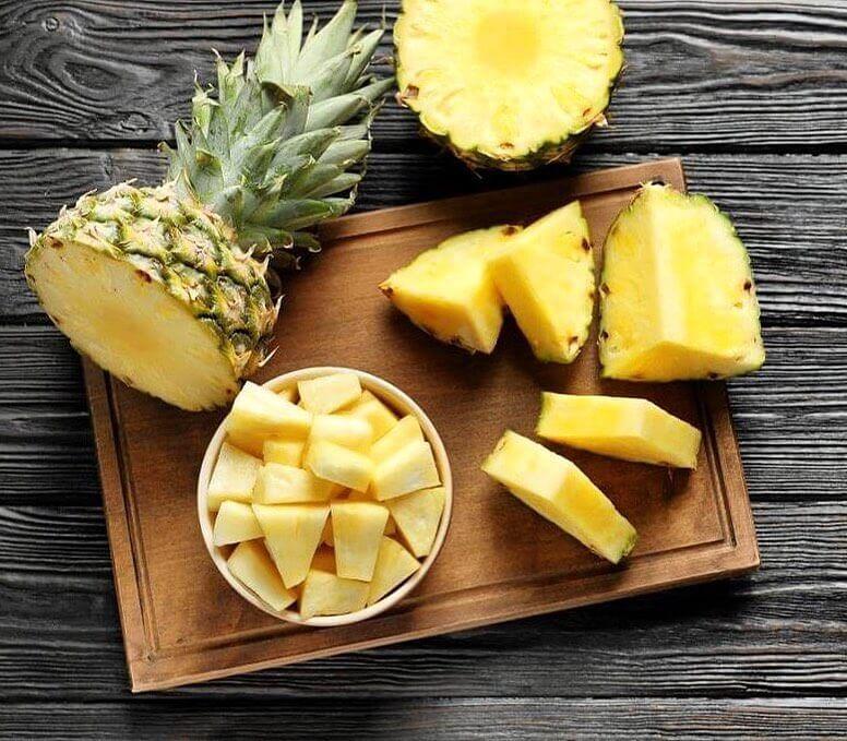 Резанный ананас