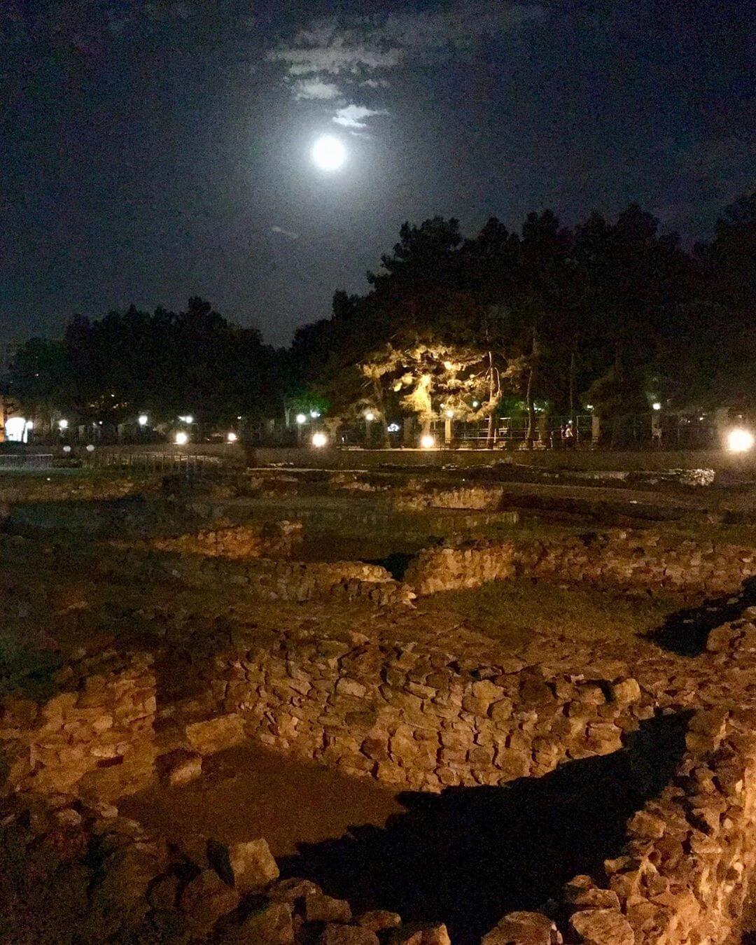 Вид ночью
