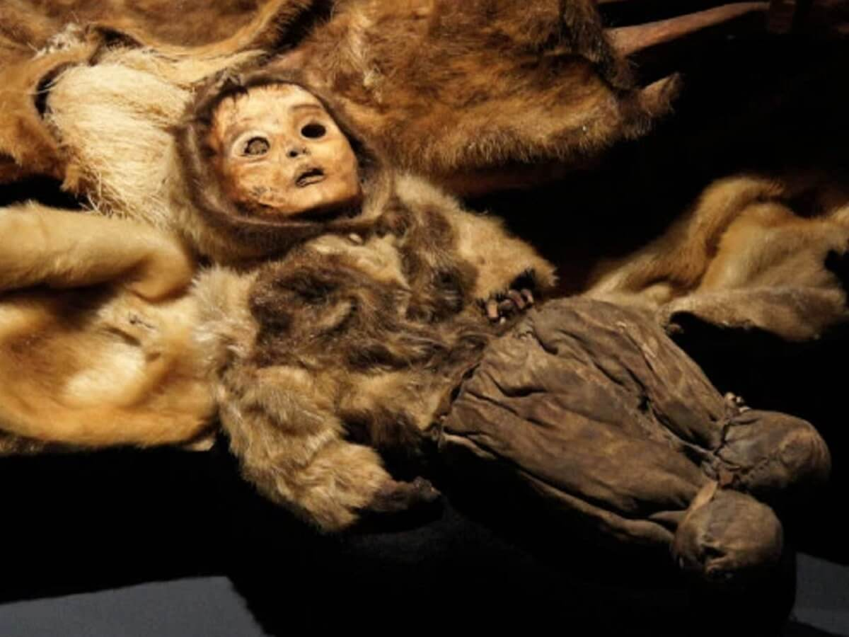 Мальчик мумия