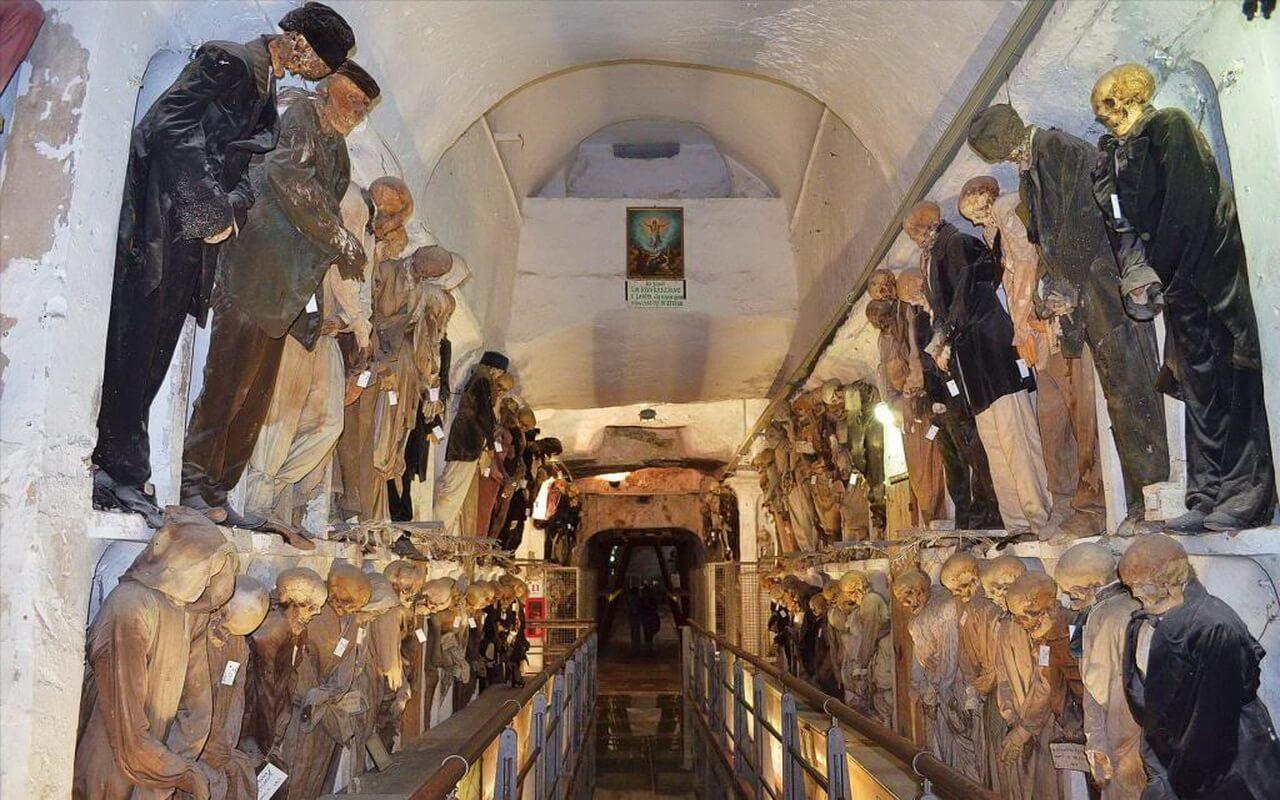 Висячие мумии