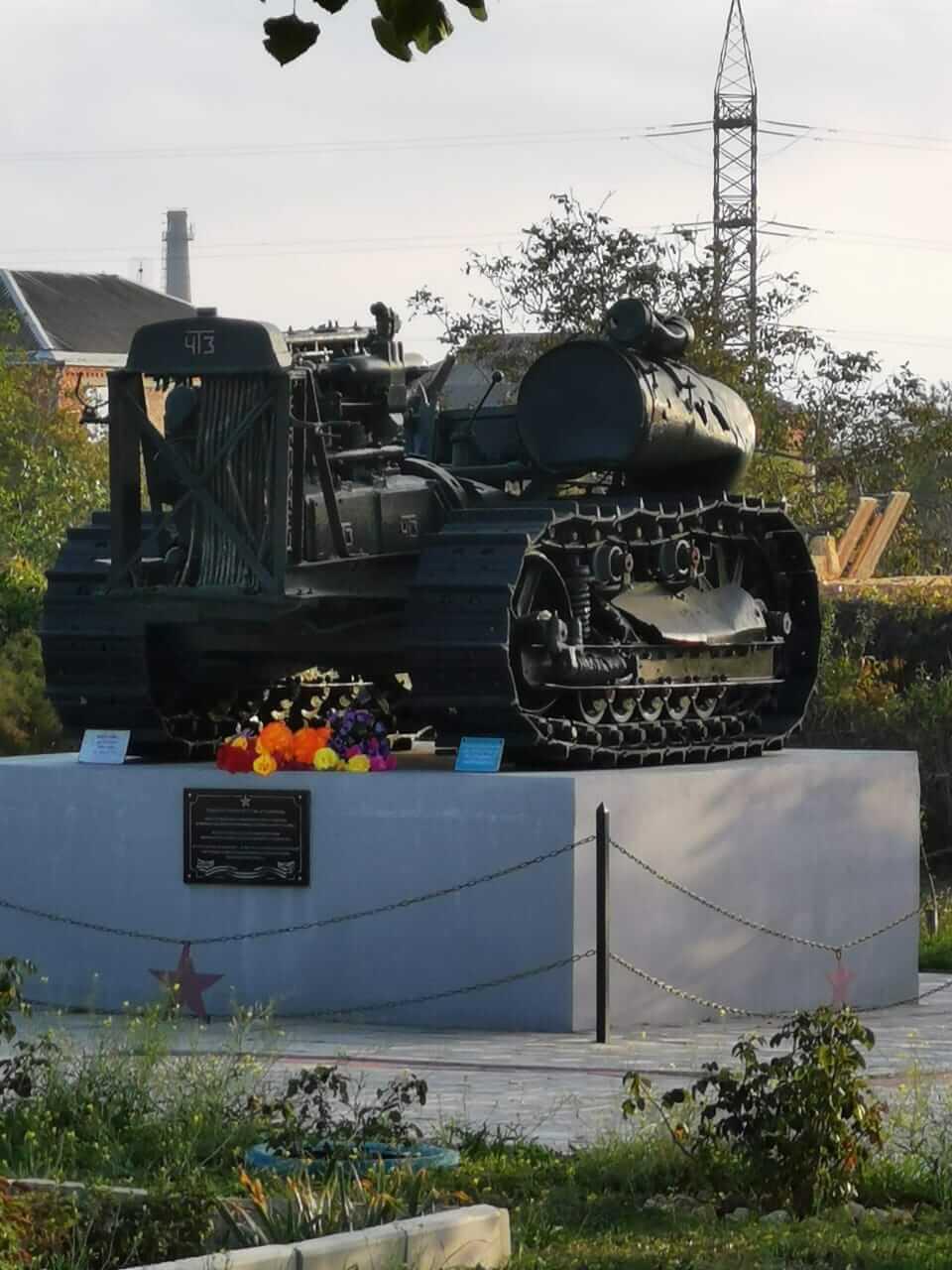 Памятник у каменоломен