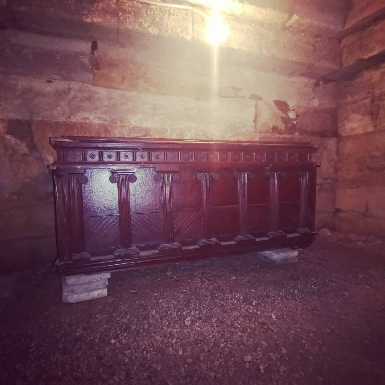Макет саркофага