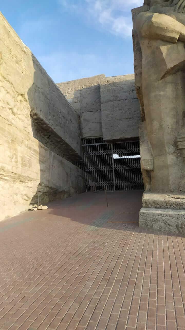 Вид на каменлоломни сбоку