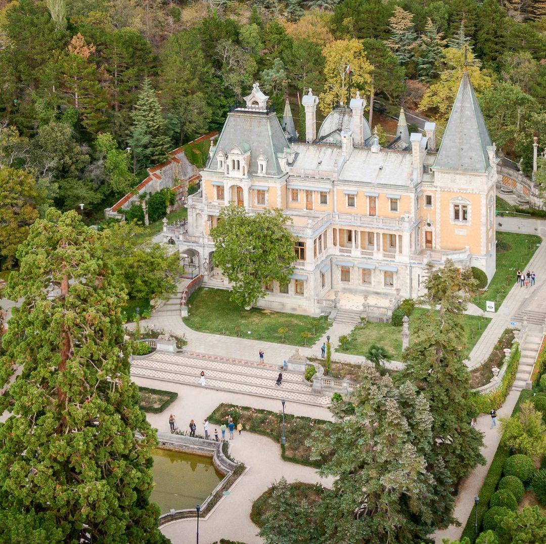 Замок с воздуха