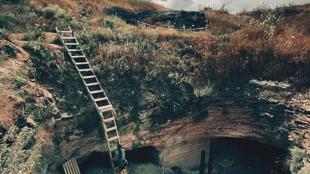 Спуск в каменоломни