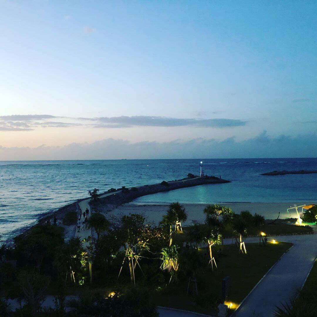 Окинава в сумерках