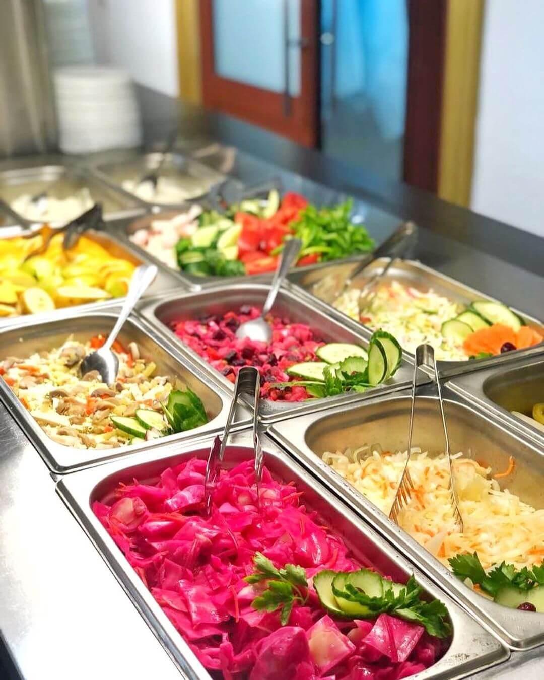 Еда в санатории